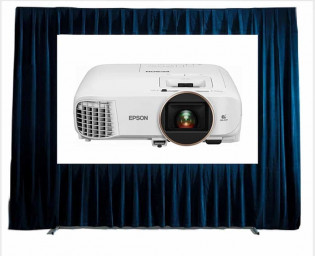 HD 4K PROJECTOR FAST FOLD SCREEN