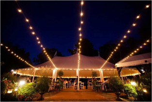 Bistro Tent Lighting