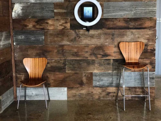 Wood/Chrome Chairs and Bar Stools