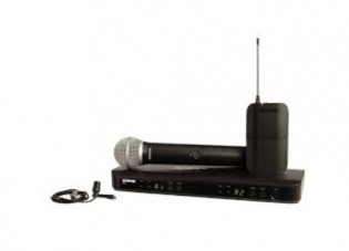 Shure BlX Dual Wireless Microphone - $75 daily